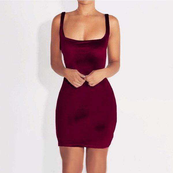 2017秋ファッションレディース深いVネック包帯ボディコンクラブカクテルミニドレスソフトベルベットドレス