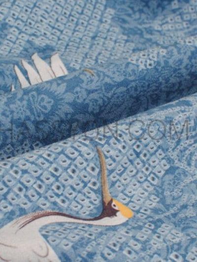 重ね着風 配色 デニム生地 人気満々 韓国風 ブルー トップス パーカー
