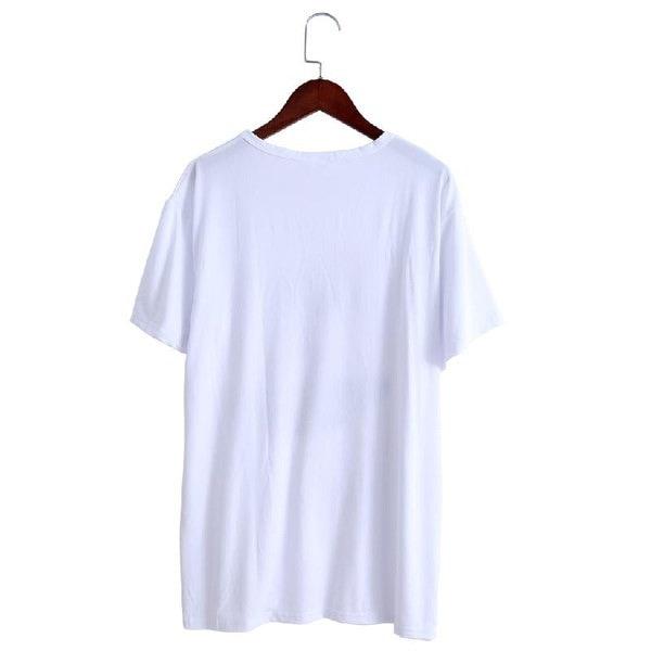 ユニセックススーパー快適なTシャツシンプルなファッションデザインメンズプラスサイズのトップス