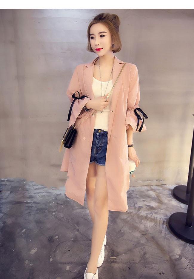 アウター コート トレンチコート レディース 女性 羽織 ロングコート 大きいサイズ レースアップ オーバーサイズ ビビッド シャーベットカラー