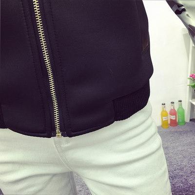 【 一番安い】春秋 韓国風 ジャケット スタジャン ショートコート 長袖 プリント シンプル スレンダーライン レディーズ女性 カジュアル ファッション 合わせやすい ゆったり