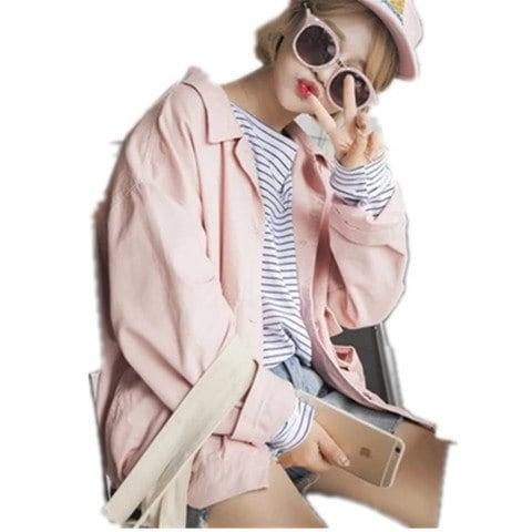 2017男女兼用 韓国ファッション★BIGBANG★春コート ジャケット /コート/アウター/日焼け止め衣★厚いタイプと薄タイプ二類 G-Dragon BIGBANG*MADE*コート パーカーアウタ