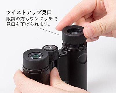 【.co.jp限定】Kenko 双眼鏡 コンサート用 ウルトラビューHB ダハプリズム式 8倍 21口径 コンパクト