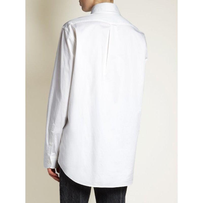 ザ ロウ レディース トップス ブラウス・シャツ【Pilt stretch-poplin shirt】White