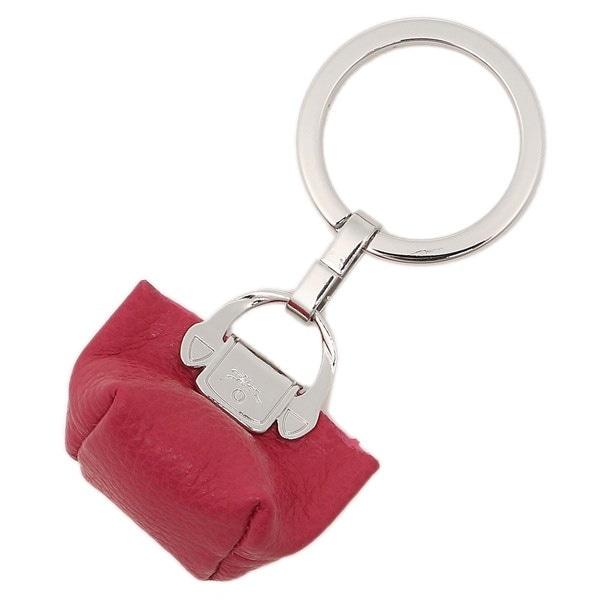 LONGCHAMP キーホルダー ロンシャン 6983 021 018 フローネ LE FOULONNE KEY RINGS キーリング PINK