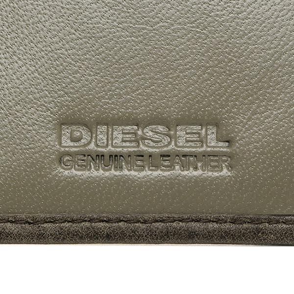 ディーゼル 財布 DIESEL X03359 P1075 H6184 24 A DAY メンズ 長財布 QUARZ/SILVER SAGE