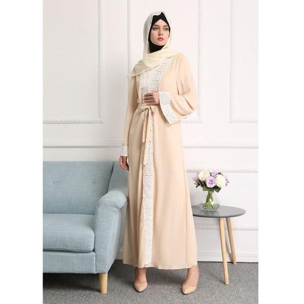 2017 Autumn Women Abaya Muslim Kaftan Hijab Burqa Long Sleeve Islamic Maxi Dress