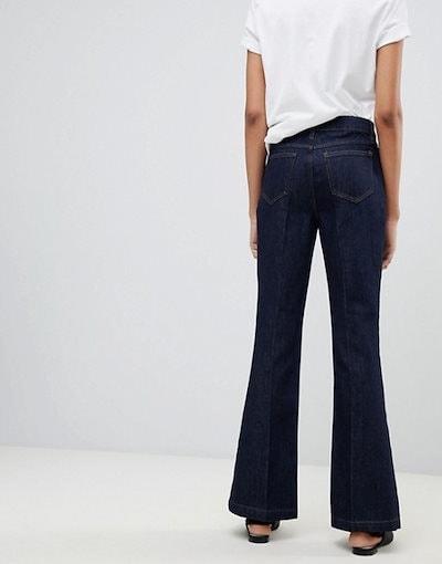 ウエアハウス レディース デニムパンツ ボトムス Warehouse flare cut jeans