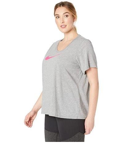 ナイキ レディース シャツ トップス Dry Dri-FIT Short Sleeve Scoop Tee (Sizes 1X-3X)