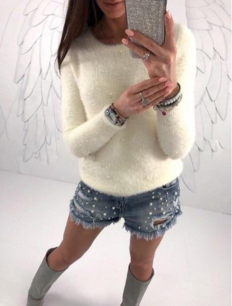 女性の暖かいロングスリーブニットセータールーズカーディガントップアウトコートコートジャンパー