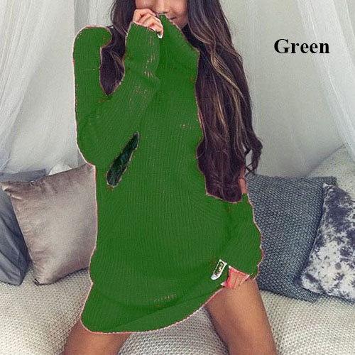 カジュアルスカートセーター女性のドレス