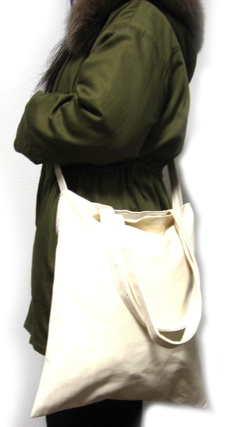 送料無料/厚手/ナチュラル/コットン/バッグ/綿/100%/帆布/大容量/2WAY/無地/自然派/natural/cotton/bag/シンプル/Wスタイルバッグ
