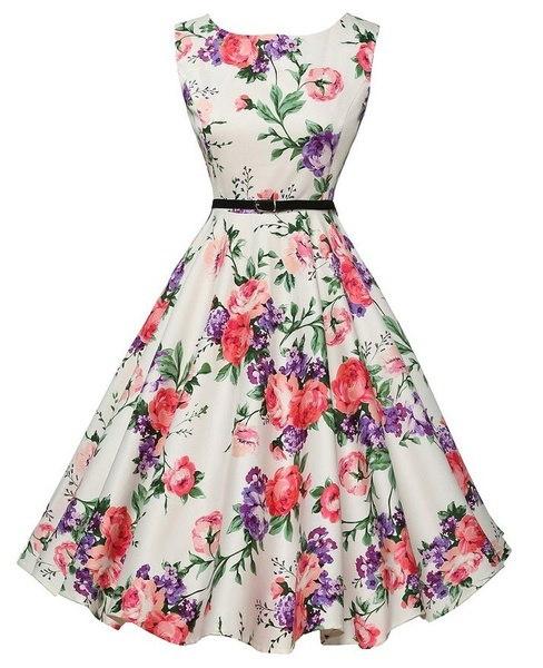 パーティーの刺繍ドレスRuway花のボヘミアンフラワープリントヴィンテージボーホメッシュドレスプラスサイズS-