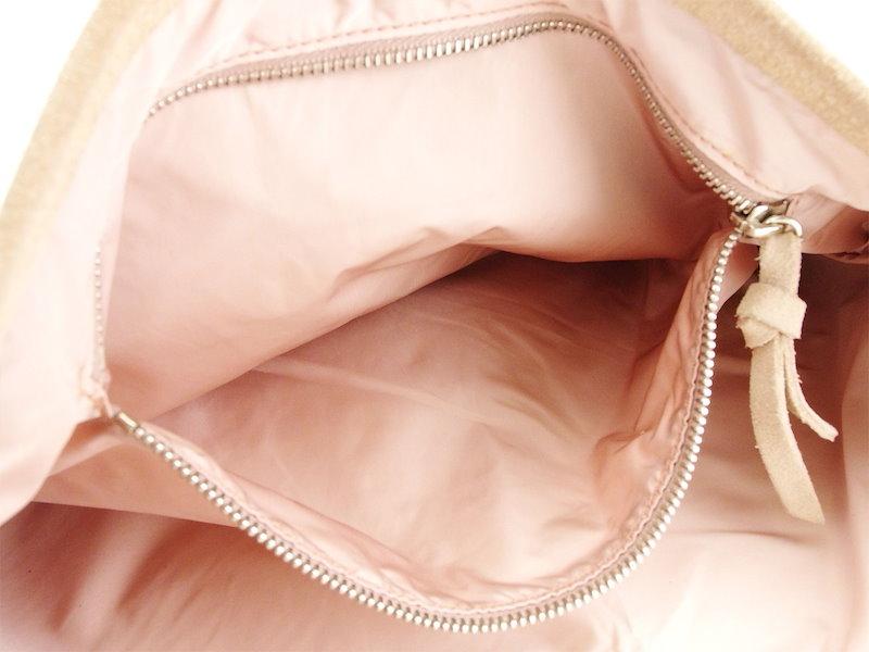 ミュウミュウ miu miu ショルダーバッグ ワンショルダー レディース   ピンク スエード 人気 セール 【中古】 T3395 .