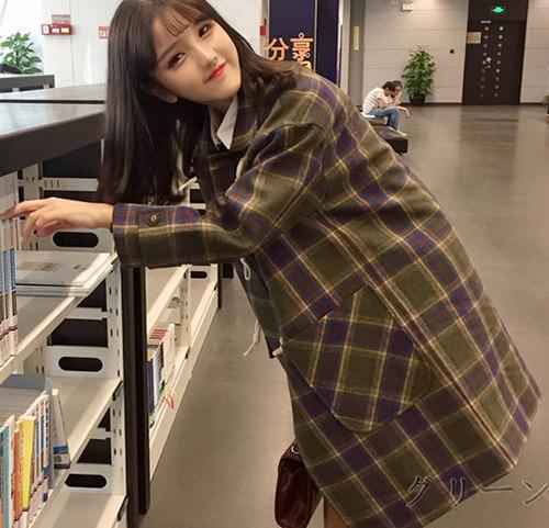 2017 カジュアル イージー ダッフル コート 大人気 全2色