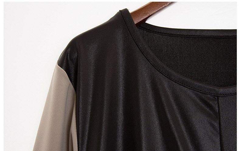 『韓国製』SELLISHOP  French drape ワンピース「大きいサイズ 大人 韓国 ファッション・結婚式・フォマール 黒 フレア 30代 40代 50代 スレンダー・Aライン,シャツ・上品