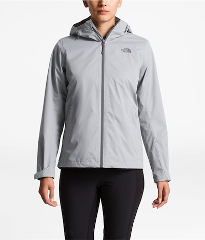 (ザ ノースフェイス) The North Face Womens Arrowood Triclimate Jacket - Color: Mid grey dobby カラー:ミッドグレイドビー
