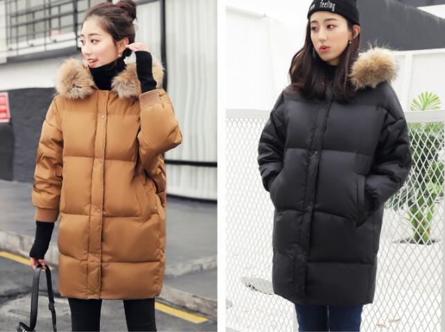 [55555SHOP]【韓国ファッション】コート コート アウター コート 防寒 流行のデザインに仕立てた ジャケット ロングタイプ 軽量 アウター ロング 長め しっかり暖か 新作 冬 女性用 柔ら