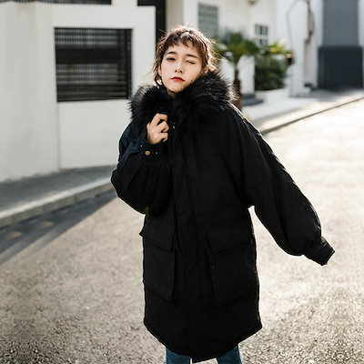 2018 秋冬物 人気の新作 コート ジャケット ジッパー ダウン 防寒 女子会 デート 通学 カジュアル オフィスQA0505