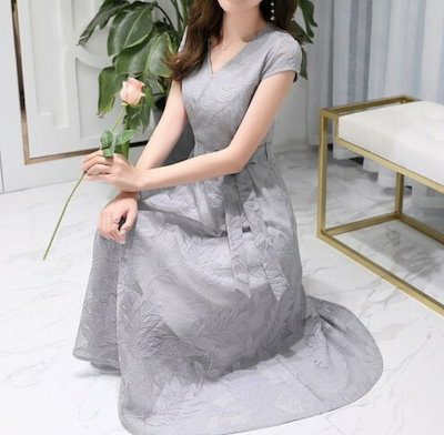 ワンピース ドレス ロングワンピース レース チュール ミモレ丈 ロング丈 リボン 上品 パーティー 結婚式