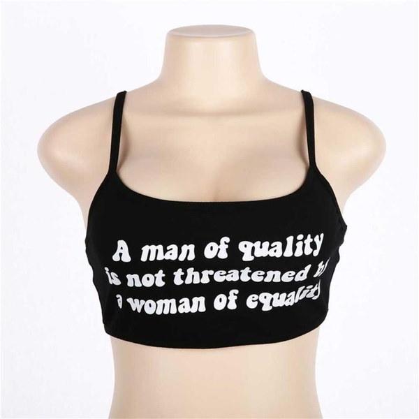 スタイリッシュな女性ノースリーブクロップトップスベストバックレスホルタータンクトップブラウスTシャツ