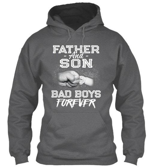 父と息子パーフェクトクリスマスギフト - バッドボーイズフォーエバーギルダンパーカースウェットシャツ