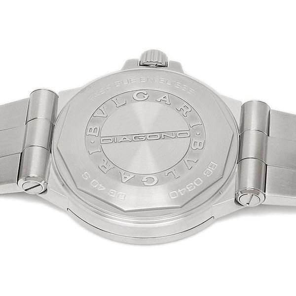 ブルガリ 時計 BVLGARI DG40C6SSD ディアゴノ 自動巻き メンズ腕時計 ウォッチ シルバー/ホワイト