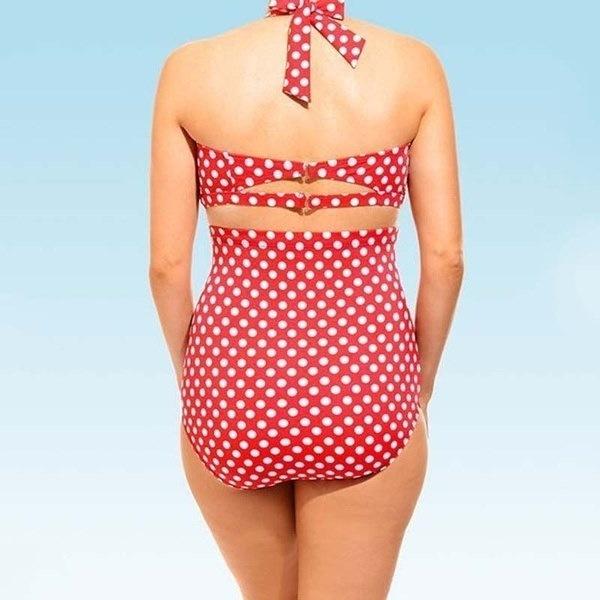 プラスサイズL 6xl女性のファッションビーチの水着2つの水着の水着