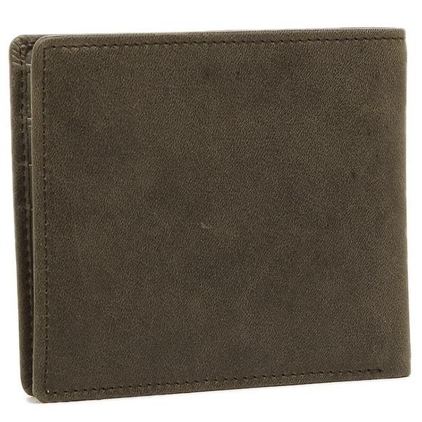 ディーゼル 財布 DIESEL X03363 P1075 H6184 HIRESH S メンズ 二つ折り財布 QUARZ/SILVER SAGE