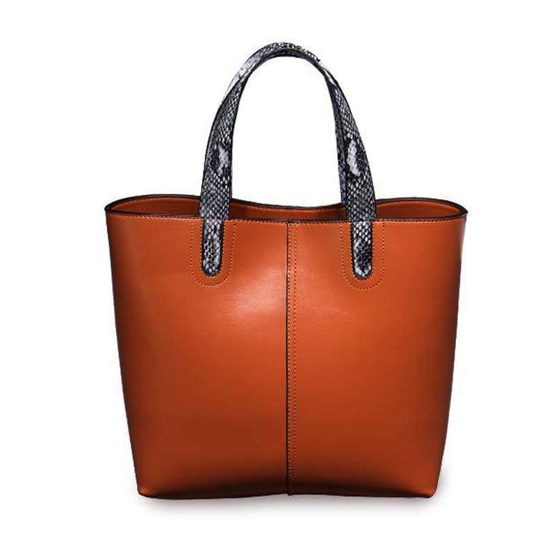 【予約 / 送料無料】本革レディースファッションバッグ/ビジネス/通勤用鞄/ショルダーバッグ/ハンドバッグ/大容量/クラシック/女子用鞄/-5 colors