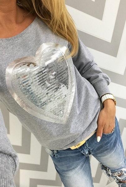 4色女性のスウェットのoネックロングスリーブTシャツパーカー女性のプルオーバースポーツブラウスを印刷