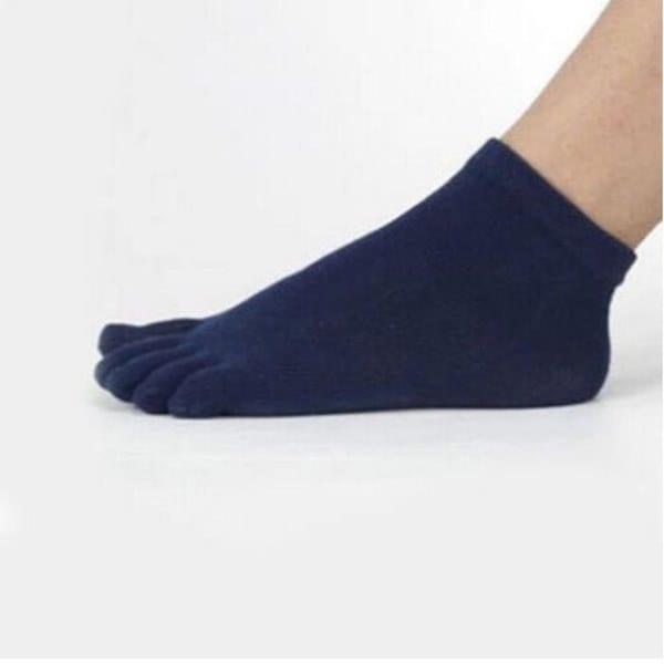 女性の通気性のある5つの別個の暖かい5色の靴下スポーツ5つの指のつま先