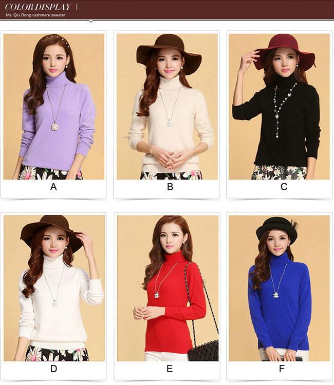 定番色を揃えた全12色!AW新作!温かさの秘密は発熱する毛糸と保温する編地のダブル機能!新感覚の「あったかい♪」レディース ニットカラフル ショート セーター トップス 長袖 韓国ファション 女性用