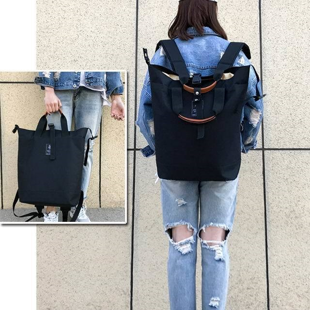 国内発送/[即納] リュック 大容量 レディース メンズ スクエアリュック ペアルック 男女兼用 バッグ リュックサック ユニセックス 旅行 新作韓国ファッション 韓国