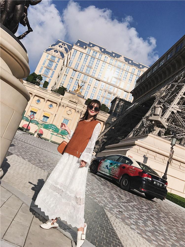 [55555SHOP]韓国ファッション 1位 ★ ヒット商品 !!メイズンニットベスト