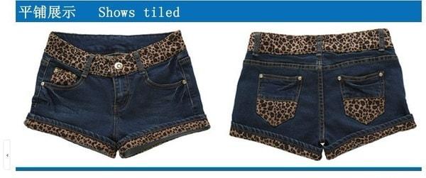 新しい女性のファッションジーンズとデニムショーツ