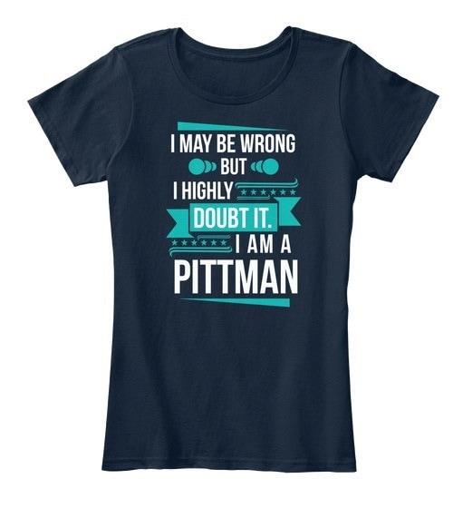 Pittman   Don t Doubt Women s Premium Tee