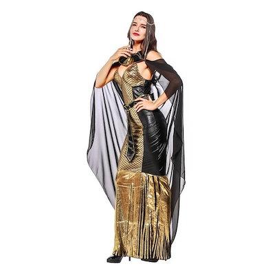 ディズニー 女王 ハロウィン コスプレドレス  ワンピース  コスチューム  女性用  ハロウィングッズ  ハロウィンパーティー
