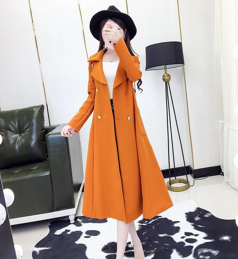 韓国ファッション レディース チェスターコート 防寒 ロングコート 中綿入り 暖か トレンチコート Aライン 秋冬 アウター