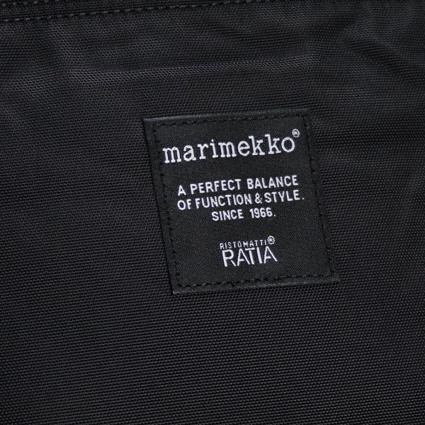 マリメッコ MARIMEKKO / METRO バックパック #039972 999 BLACK【大モノもラッピング可!】新春初売り大特価中!