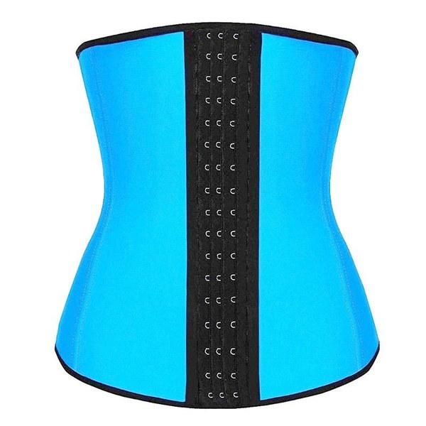 XmasスポーツラテックスゴムウエストトレーナーCincher UnderbustコルセットボディシェイパーShapewear