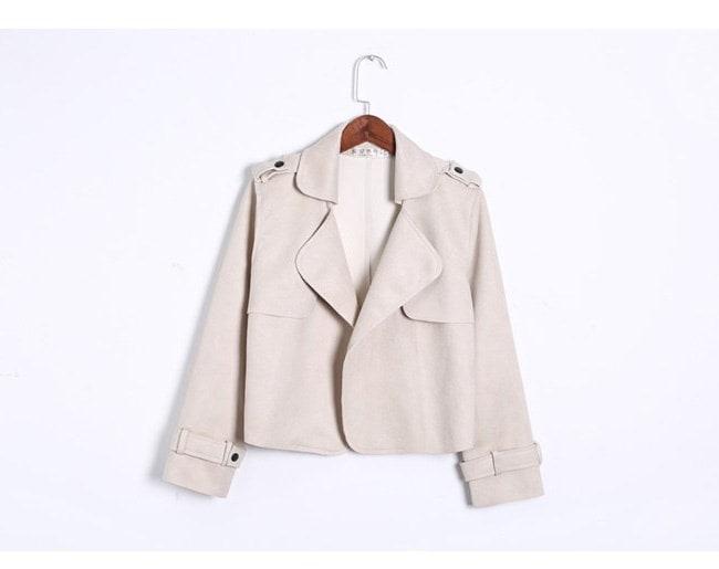 アウター ジャケット 上着  レディース 可愛い 羽織 女性 秋服 お洒落 無地   OL 通勤 ダスターコート