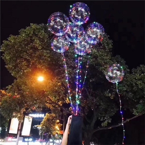 屋内バーKTVのための18インチの透明なバブルボール光の装飾的なボール