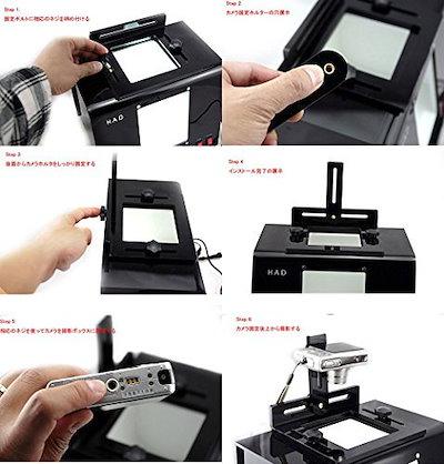 HADデジタル撮影ボックスジュエリー時計、小物撮り撮影ボックスライトボックス簡易照明ボックス(QT-295)