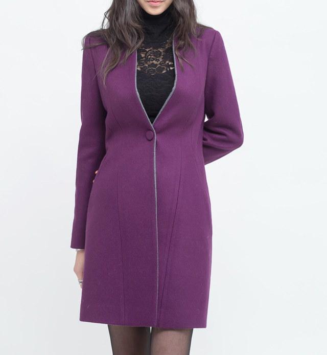 スリムコート- This is slim coat having perfect sewing texture and good fit feeling.