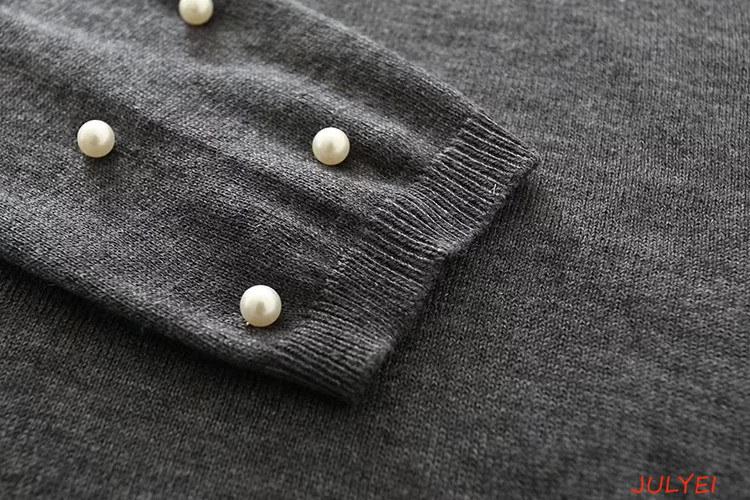 欧米風 ラウンドネックニット  セーター ニット   無地 長袖  着痩せ  ゆったり  冬物  レディースファッション