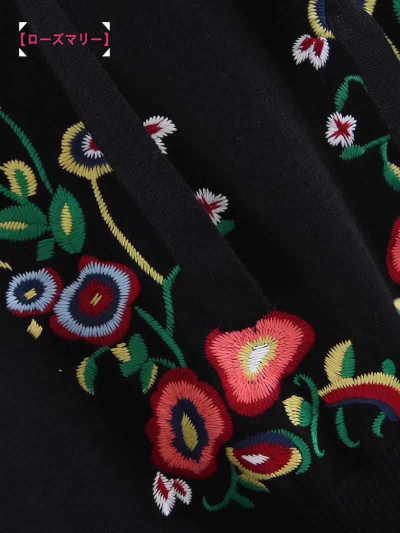 【ローズマリー】欧米2017秋冬新型女装フード花刺繍チュールスウェットトップス フード付き ルーズトップス 花柄  ベーシック 大人気-QQ4660