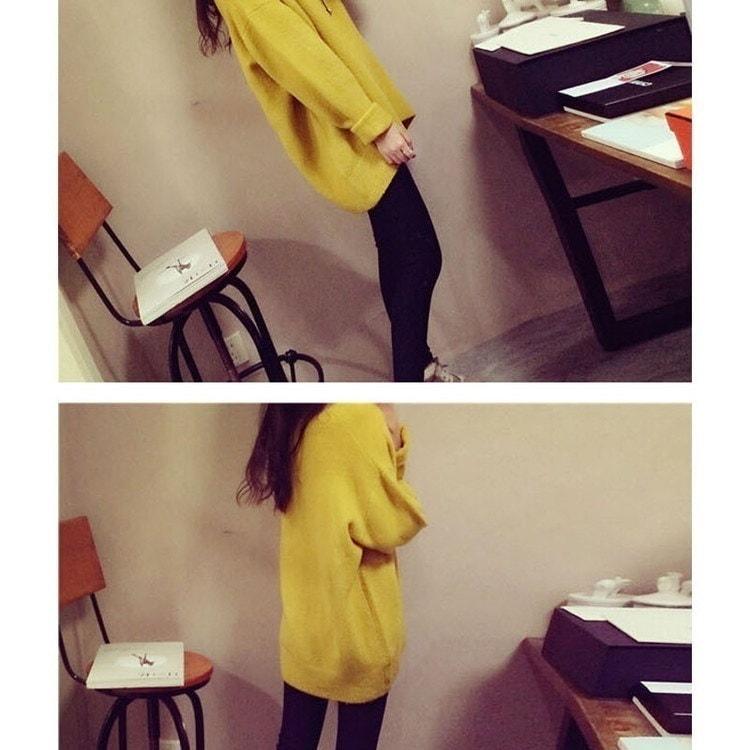 暖かいセーター女性のファッションカジュアルニットセーターOネックロングスリーブソリッドセーターYy1032