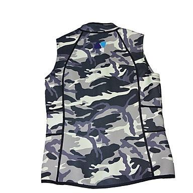 ライフジャケット防水サーマル/ウォームスイミングビーチナイロンTeryleneLYCRA®パッチワークファッションリーフSp
