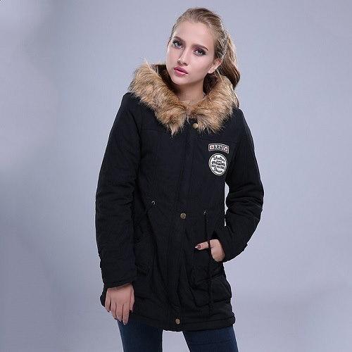 2016女性の基本的なコート人気の冬の女性のジャケット暖かい快適なボンバージャケット女性アウターCasaco Chaqurtas MUJER Ttj14